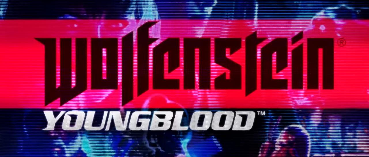 Wolfenstein Young Blood logo Atomix
