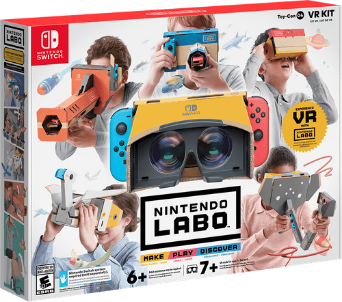 Nintendo anuncia un kit de Labo de realidad virtual para Switch