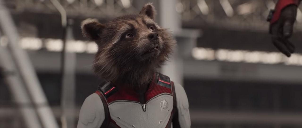 Avengers Endgame Rocket Atomix