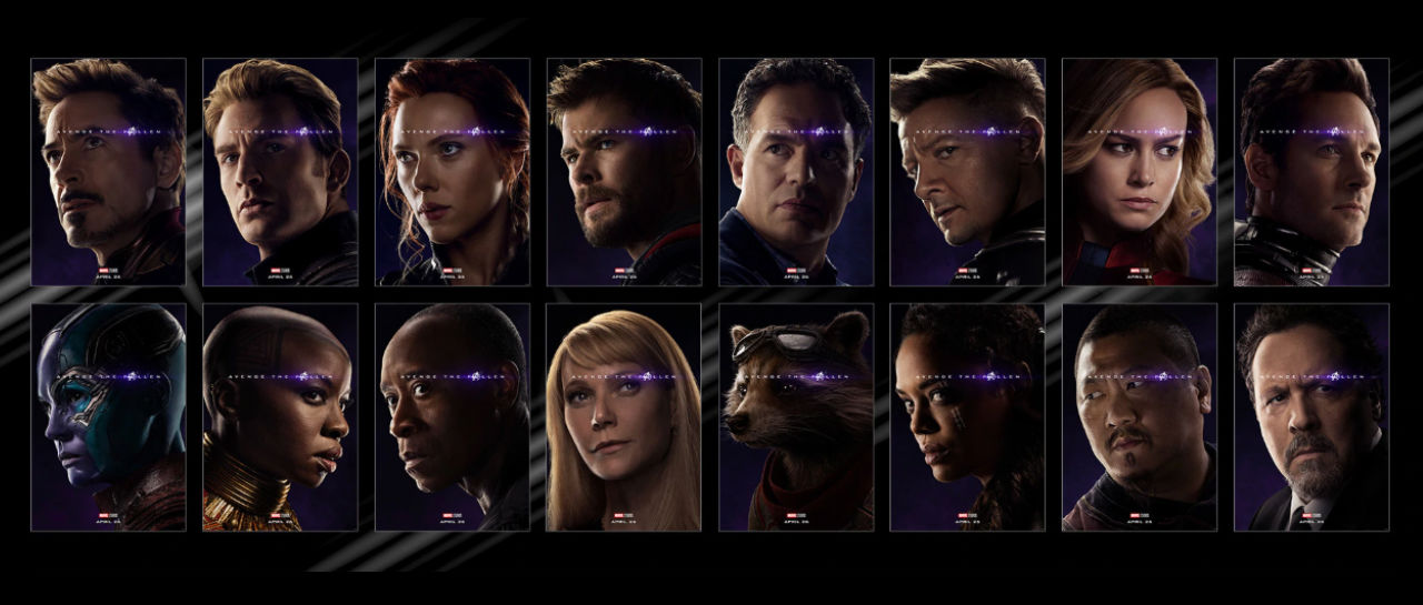 Avengers Endgame posters Atomix