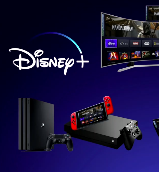 Consoles Disney plus Atomix