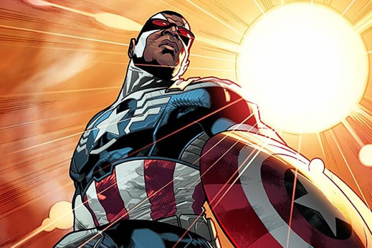 Falcon Captain America Atomix