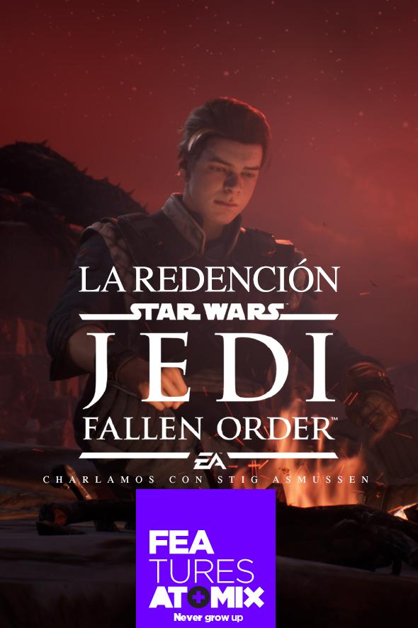 Feature Entrevista Jedi Fallen Order