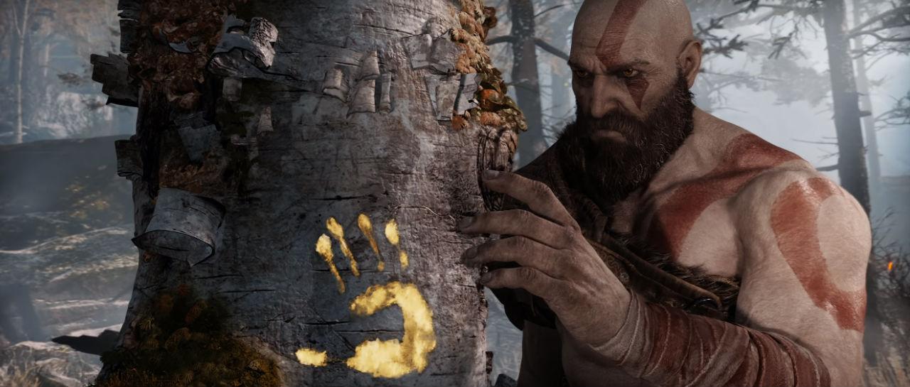 God ogf War Kratos Atomix