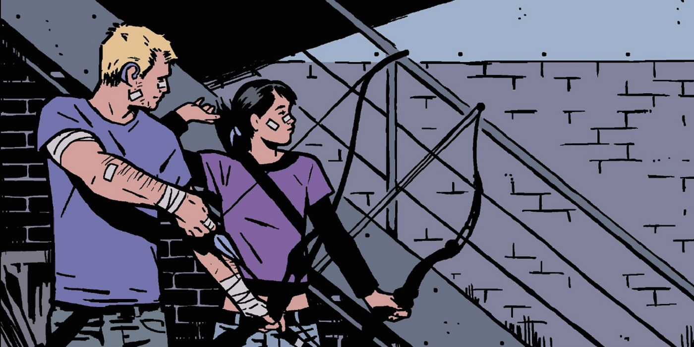 Hawkeye Marvel Atomix 11