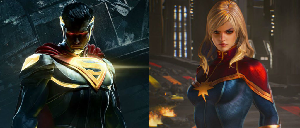 Marvel vs DC Atomix