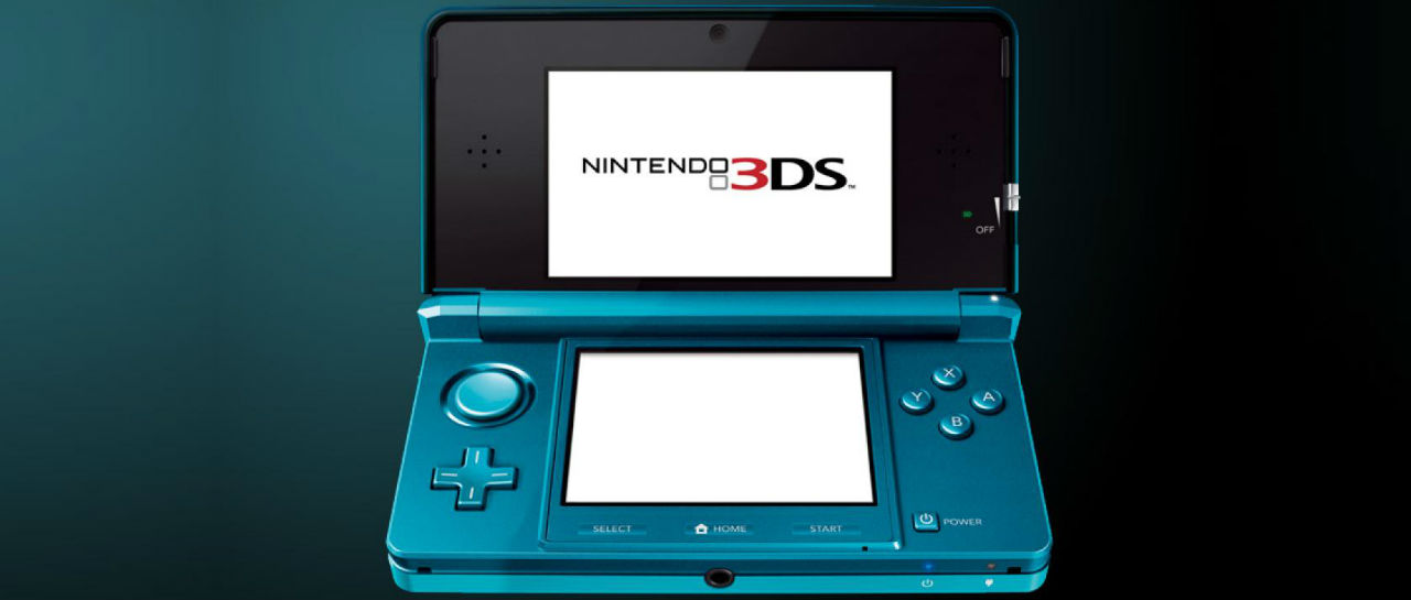 Nintendo 3DS blue Atomix
