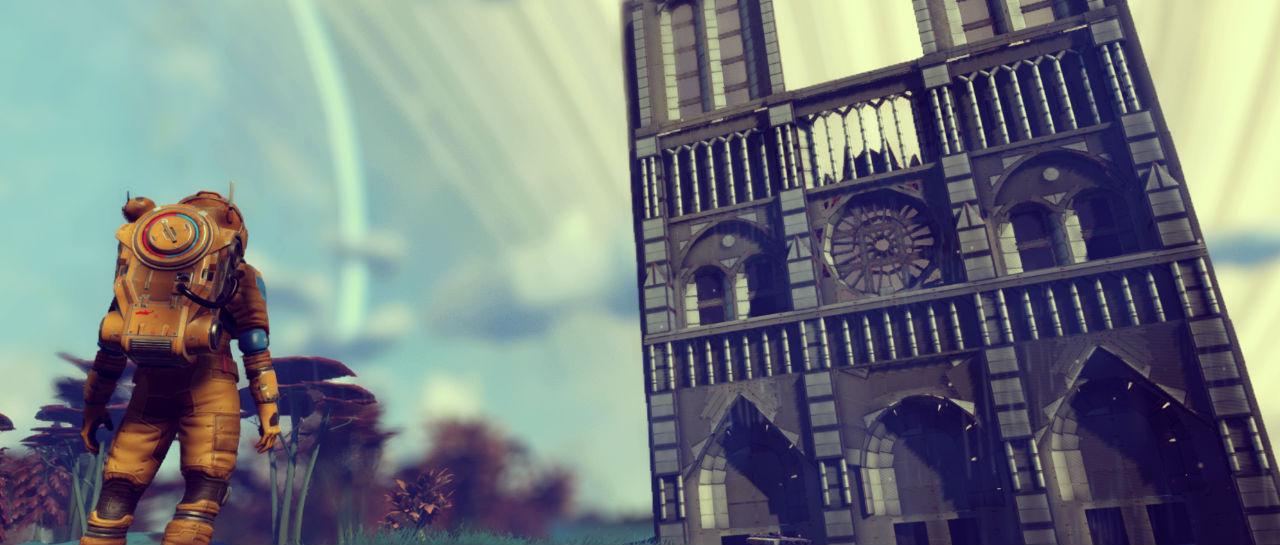 Notre Dame No Mans Sky Atomix