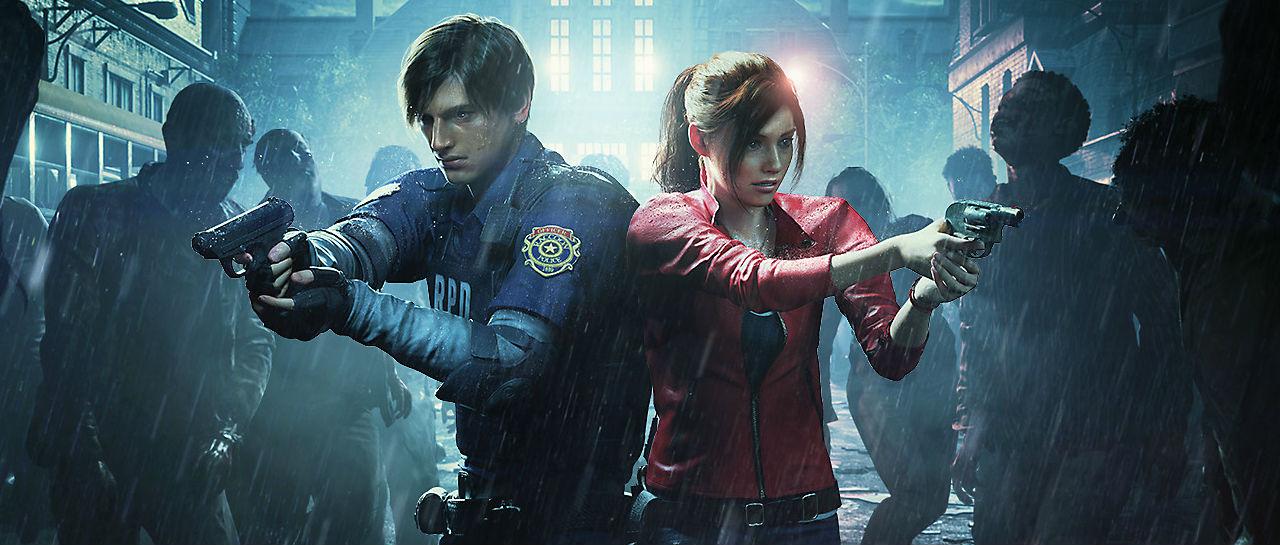 Resident Evil 2 remake Atomix