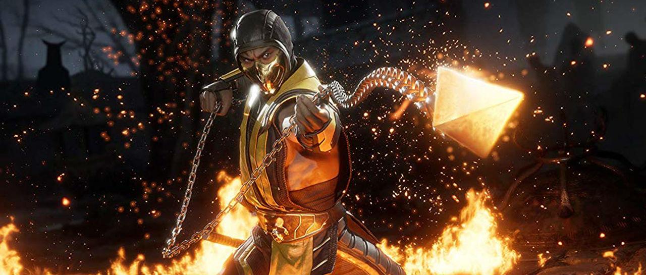 Scorpion Mortal Kombat 11 Atomix