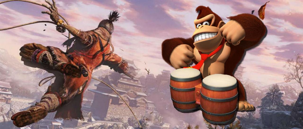 Sekiro Donkey Kong Atomix