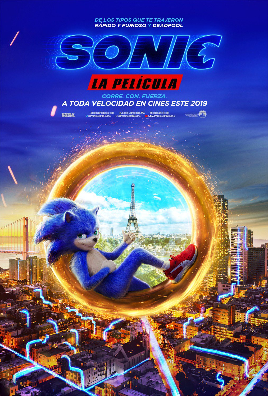 Sonic Poster Latam Atomix