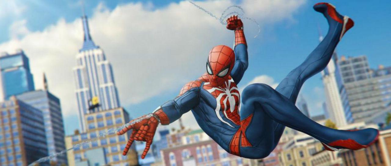 Spider Man PS4 Atomix