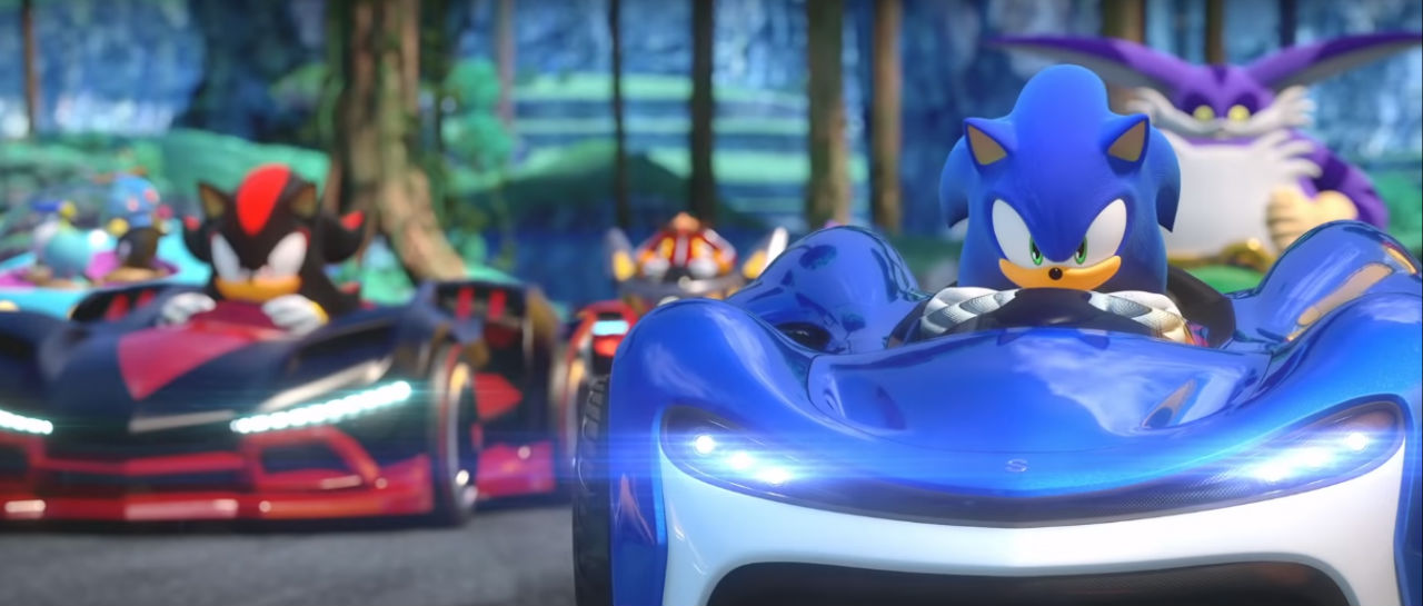 Team Sonic Racing trailer Atomix