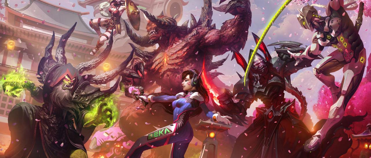 Blizzard Entertainment juegos Atomix