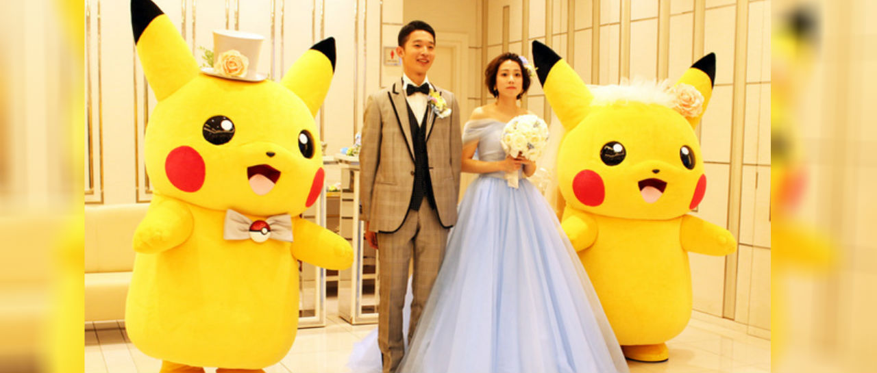 Boda Pikachu 3 Atomix