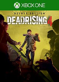 Dead Rising 4 Deluxe Xbox one