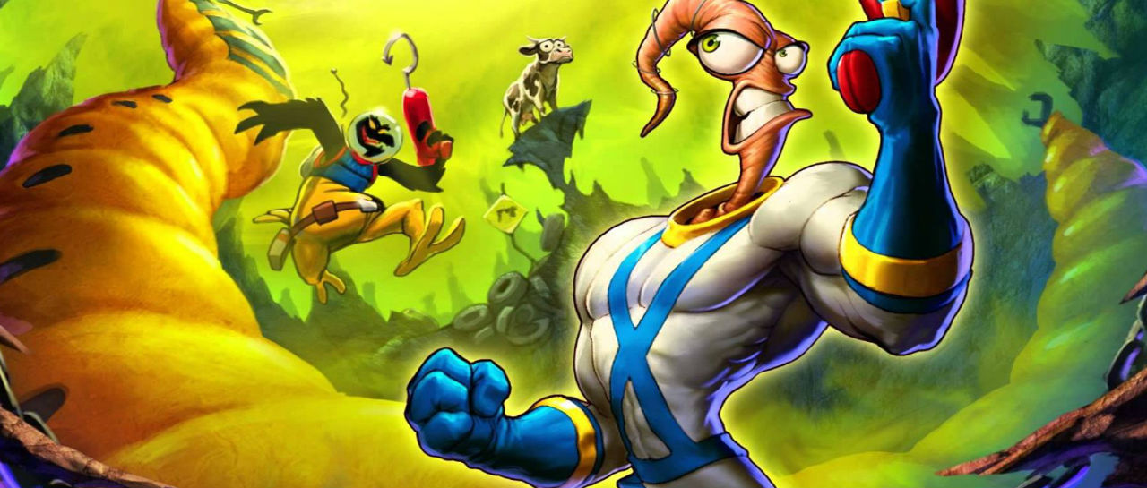 Earthworm Jim Atomix