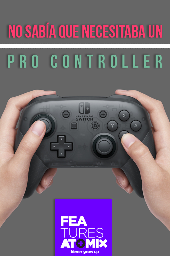 Feature Pro Controller