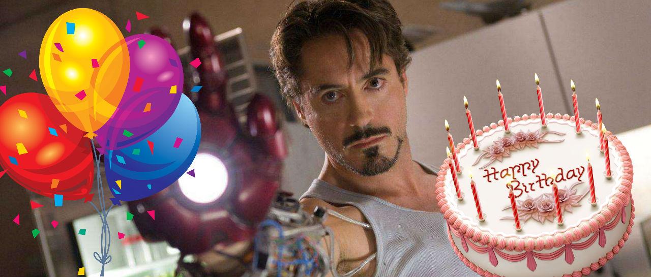 Iron Man birthday Atomix