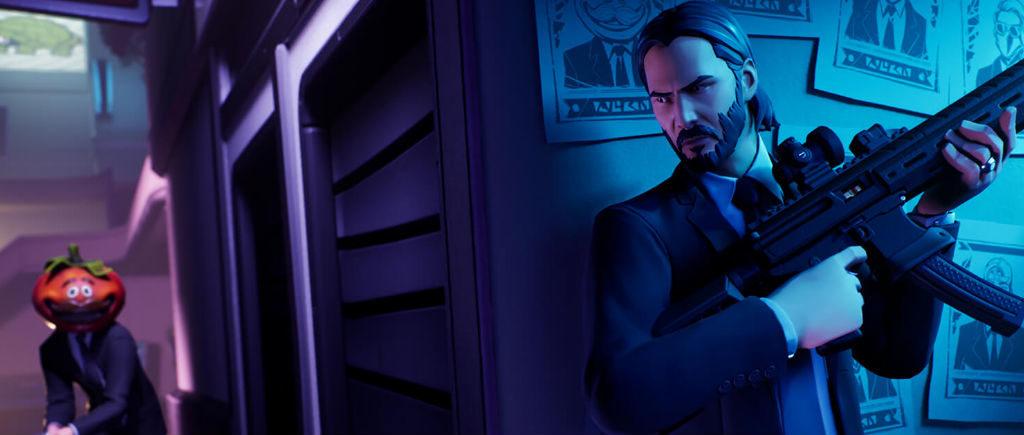 John Wick Fortnite trailer Atomix