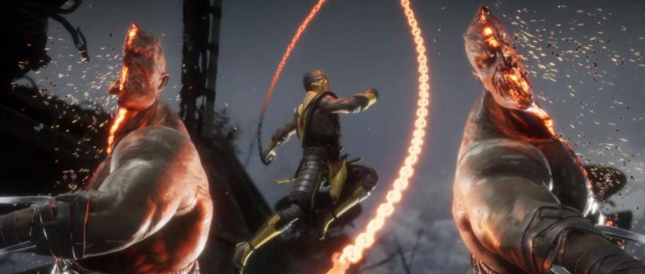 Mortal Kombat 11 Fatality Atomix