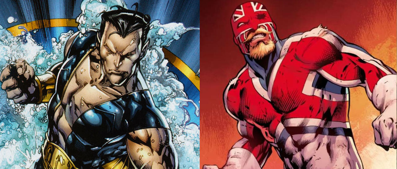 Namor Captain Britain Atomix