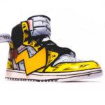 Pikachu Air Jordans Atomix 1