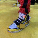 Pikachu Air Jordans Atomix 5