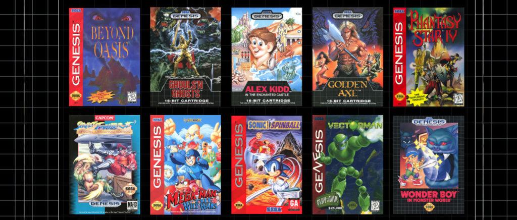 Sega Genesis Mini juegos 3 Atomix