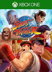 Street Fighter 30 Anniversary Xbox One