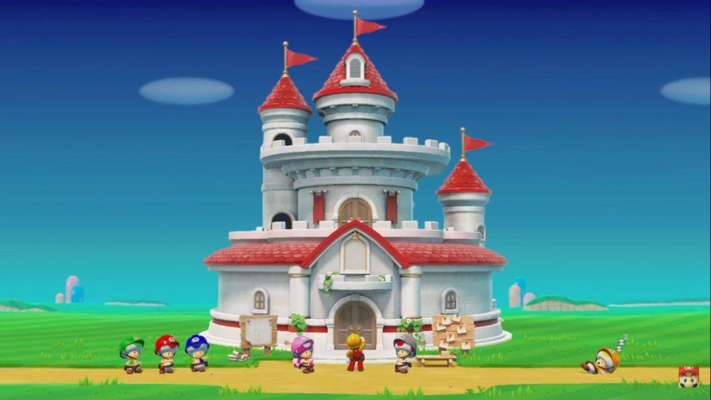 Super Mario Maker 2 Historia