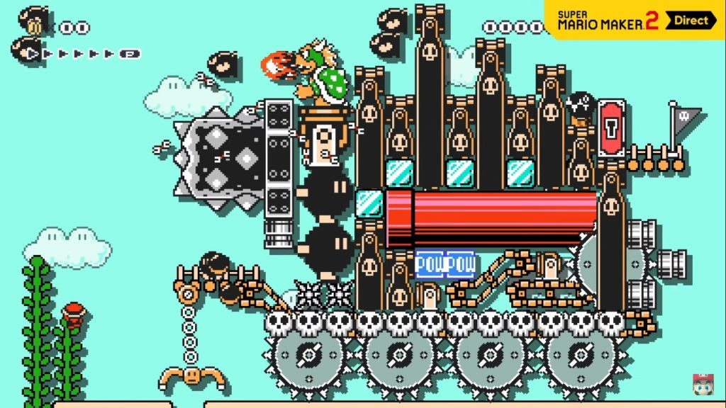 Super Mario Maker 2 Kondo