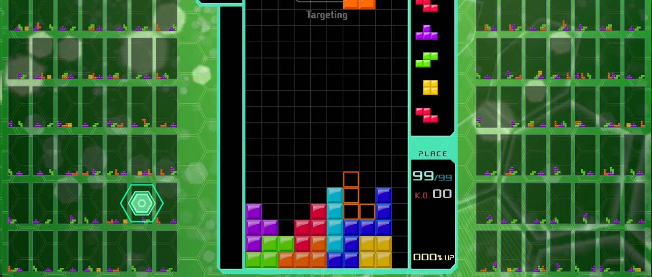 Tetris 99 offline Atomix
