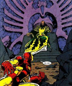 The Mandarin Iron Man Atomix