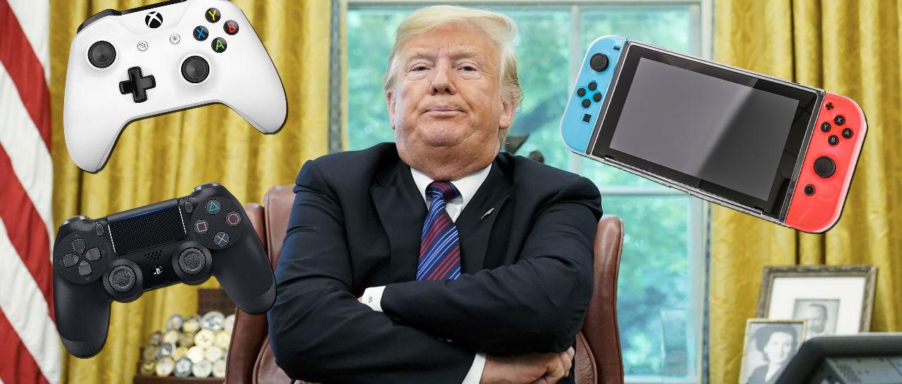 Trump consolas Atomix