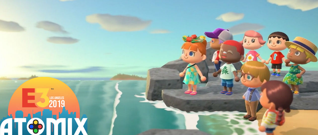 Animal Crossing New Horizons E3 2019 Atomix