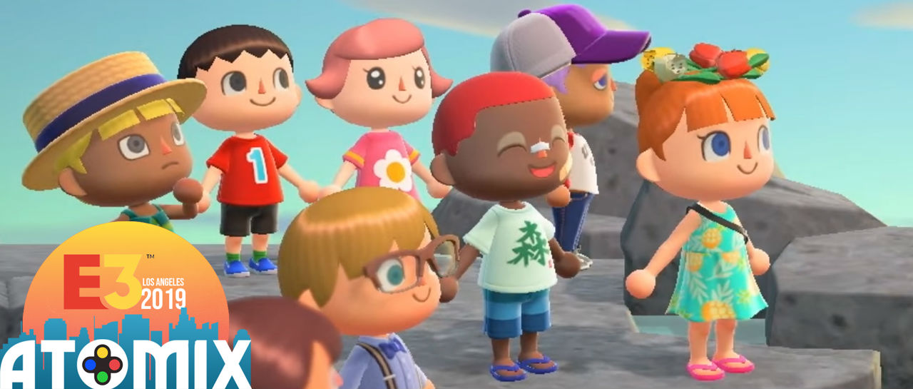 Animal Crossing multiplayer E3 2019 Atomix