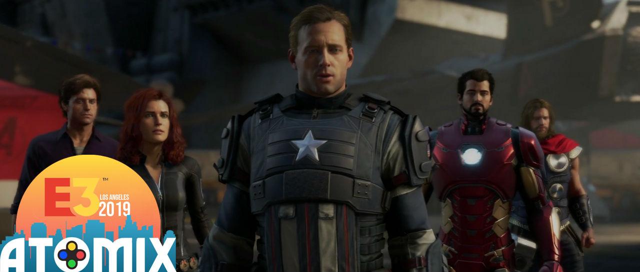 Avengers E3 2019 Atomix