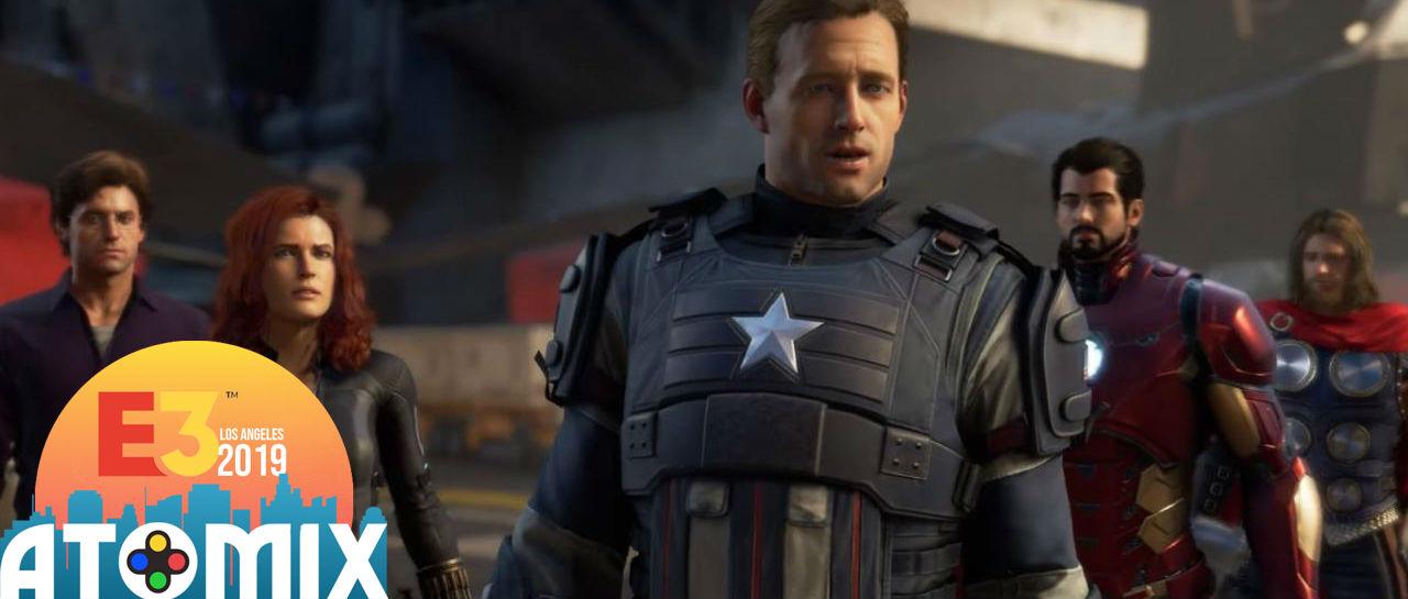 Avengers Marvel E3 2019 Atomix