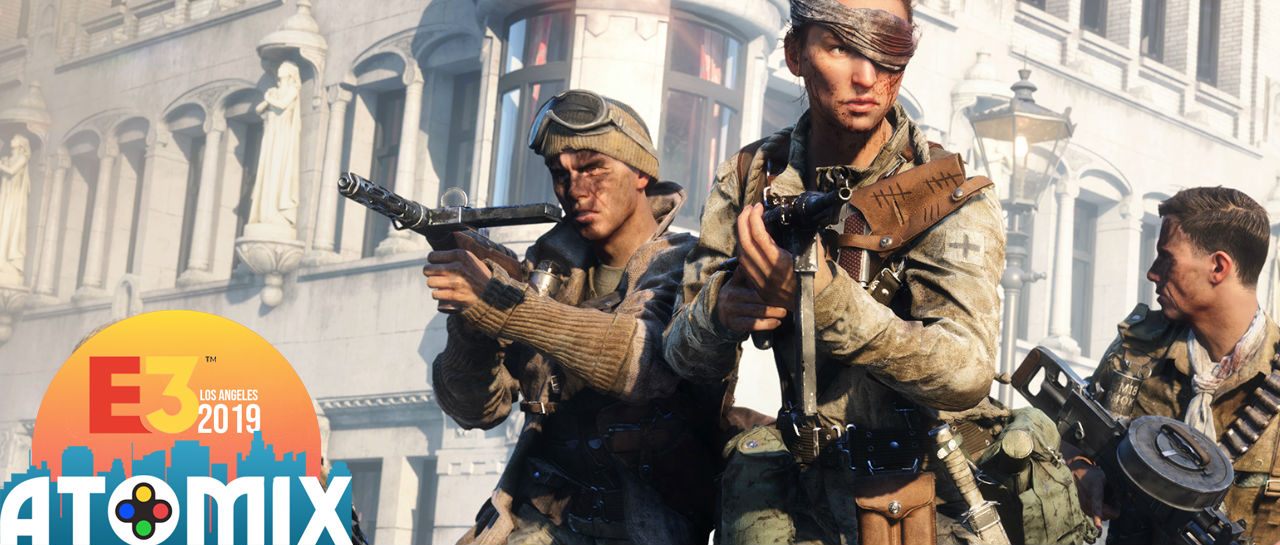 Battlefield V E3 2019 Atomix