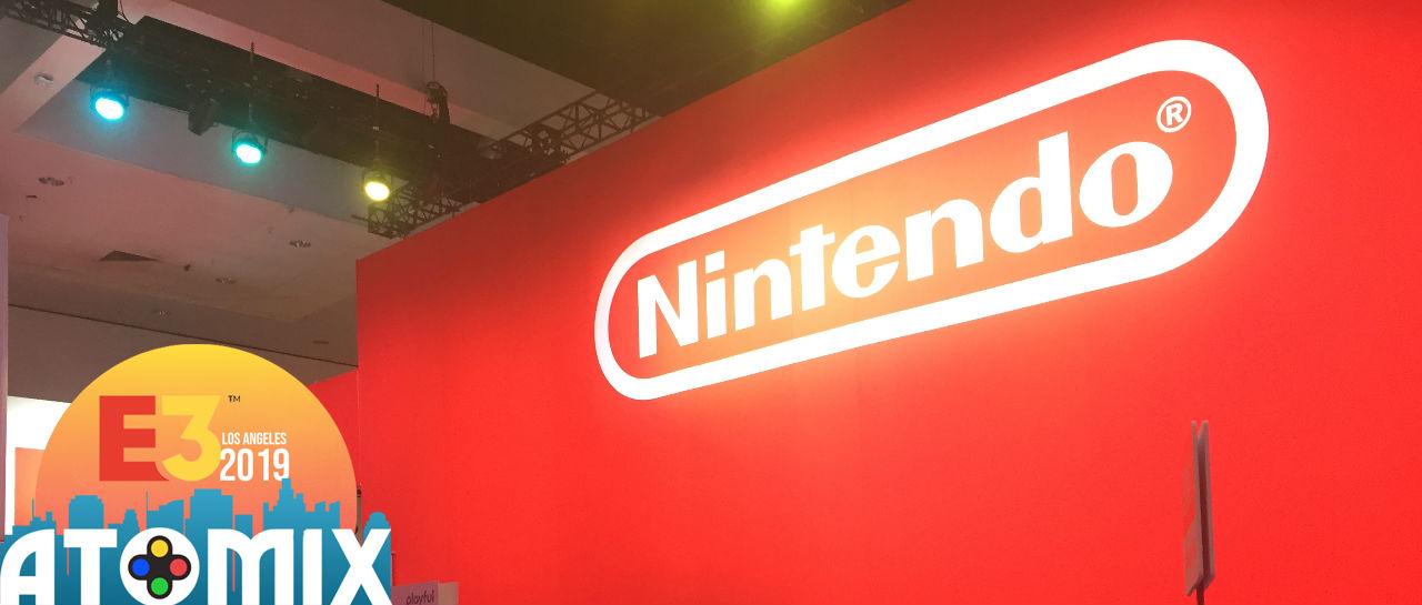 Booth Nintendo E3 2019 Atomix