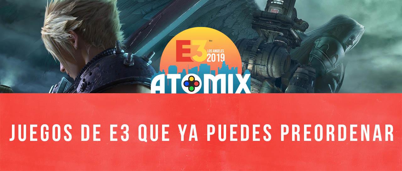 Buzz Preventas Juegos E3 Atomix