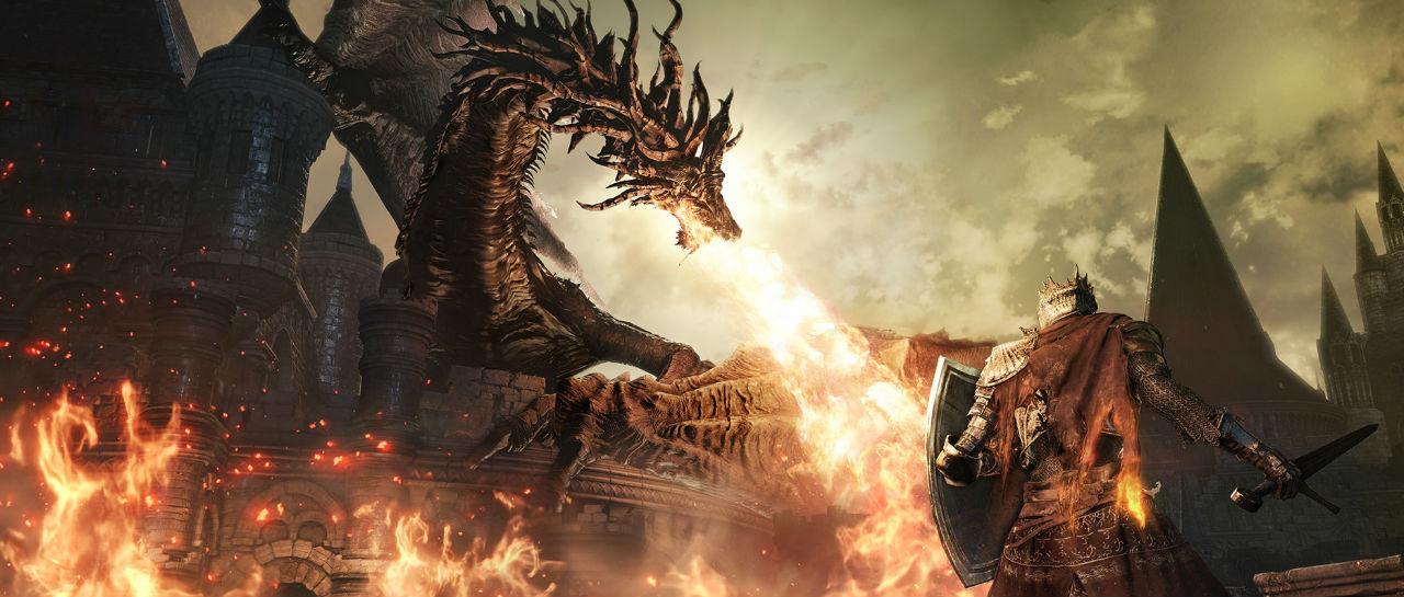 Dark Souls 3 dragon Atomix