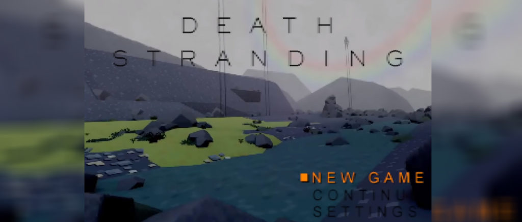 Death Stranding PS1 Atomix