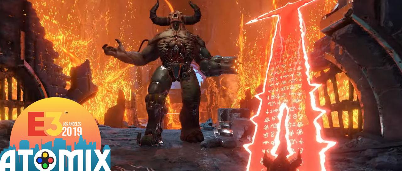 Doom Eternal Atomix E3 2019