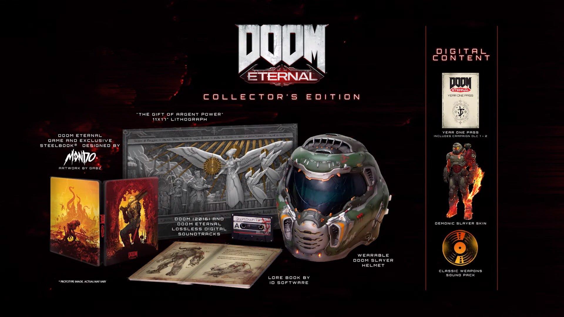 Doom Eternal collectors Edition Atomix