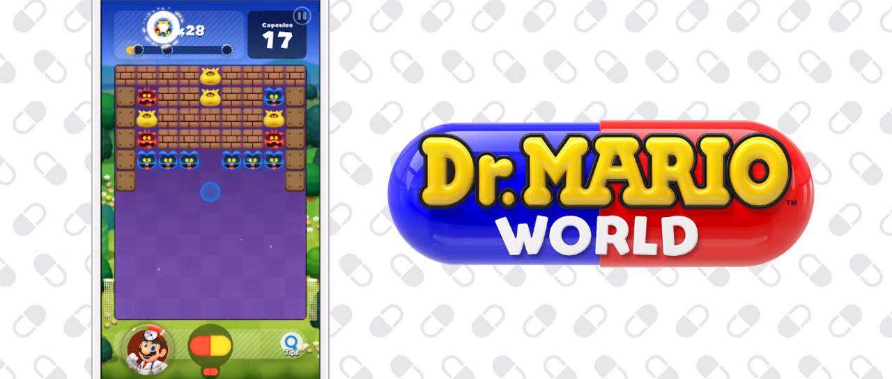 Dr Mario World trailer Atomix