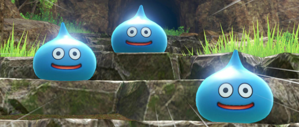 Dragon Quest slimes Atomix