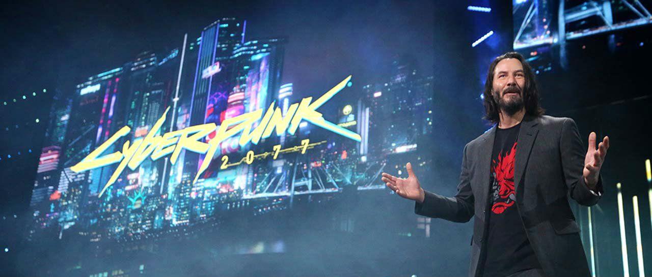 E3 Keanu Reeves Atomix